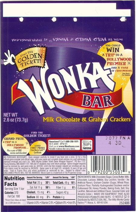 2002 wonka  u2013 candy wrapper archive