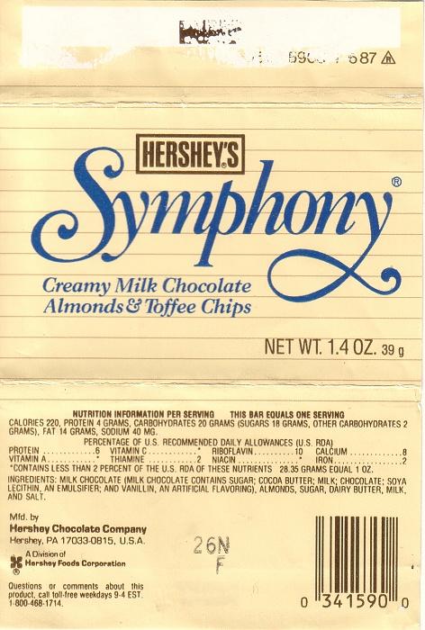 Symphony Candy Bar | www.imgkid.com - The Image Kid Has It!